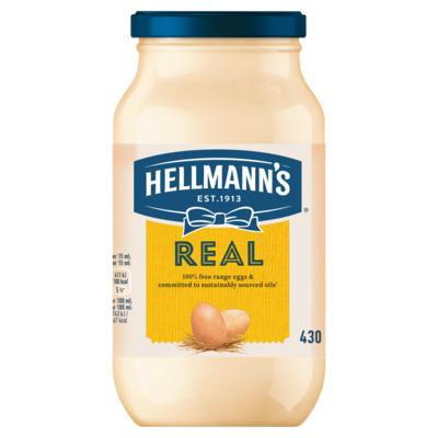 Hellmann`s Saus Pot Real 430 ml