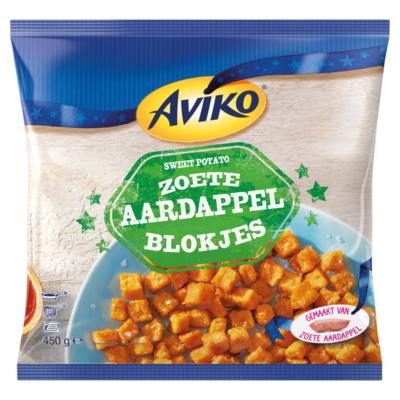Aviko Zoete Aardappel Blokjes 450 g