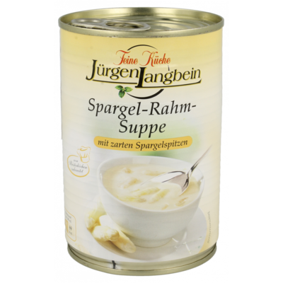 Jurgen Langbein Luxe asperge roomsoep
