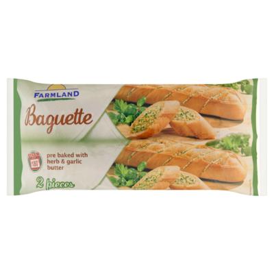 Farmland Kruidenboter baguette 2x 175 gram