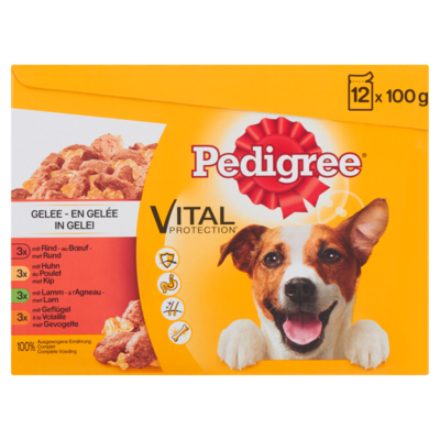 Pedigree Vital Protection in Gelei 12 x 100 g