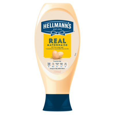 Hellmann`s Saus Squeeze Real 430 ml