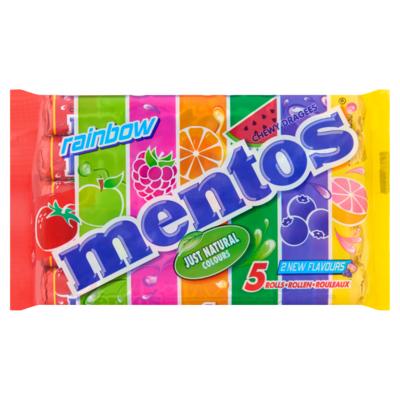 Mentos Rainbow 5-pack
