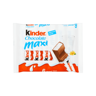 Kinder Chocolate Maxi 6 Reepjes
