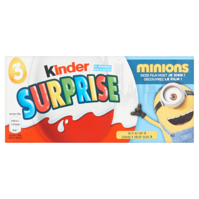 Kinder Kinder surprise 3-pack