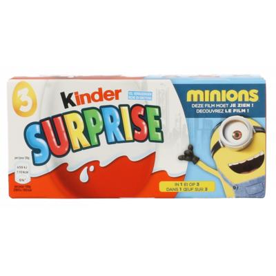 Kinder Kinder surprise 3-pack