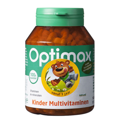 Optimax Kinder multivitaminen naturel
