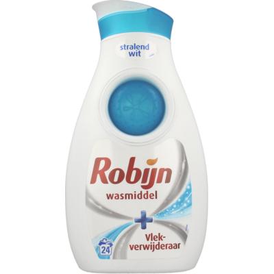 Robijn Wasmiddel Stralend Wit Met Vlek-Verwijderaar