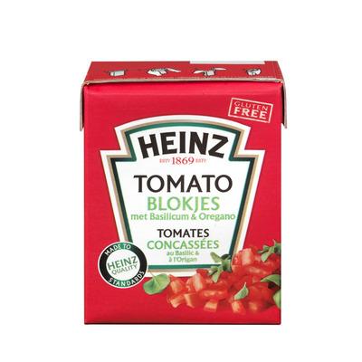 Heinz Tomato blokjes met basilicum en oregano