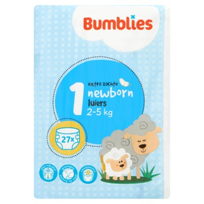 Bumblies nr. 1 literluiers newborn 27 stuks