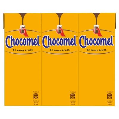 Chocomel minipakjes 6 x 200 ml.