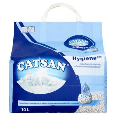 Catsan hygiene plus 10 liter