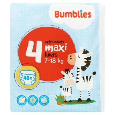 Bumblies luiers nr 4 maxi 40 stuks