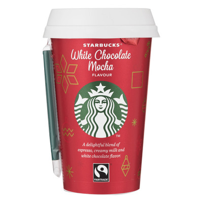 Starbucks Discoveries witte chocolade-mokka