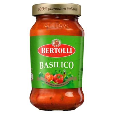 Bertolli pastasaus basilicum 400 gram