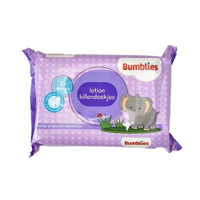 Bumblies babydoekjes 72 stuks