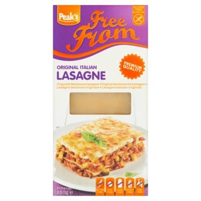 Peak's Free From lasagne 250 gram
