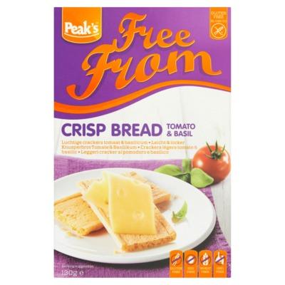 Peak's Free From luchtige crackers tomaat 130 gram
