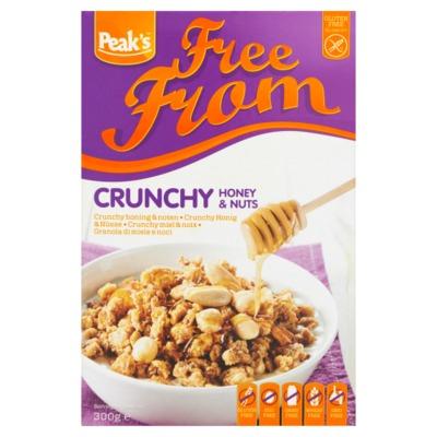 Peak's Free From crunchy noten 300 gram
