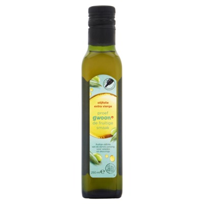 Huismerk olijfolie extra vierge 250 ml.