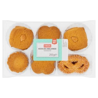 Huismerk roomboter koekjes melange 200 gram