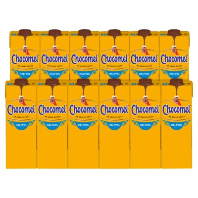 Chocomel halfvol doos 12x1 liter