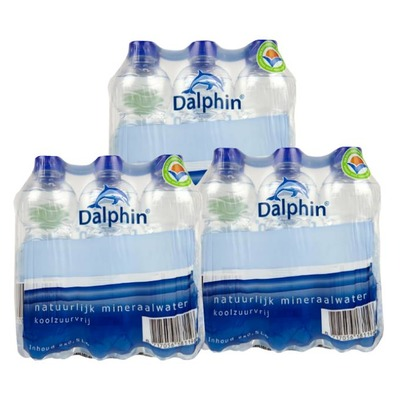 Dalphin water koolzuurvrij 33 cl. 3x 6-pack