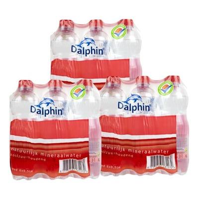 Dalphin water koolzuurhoudend 33 cl. 3x 6-pack