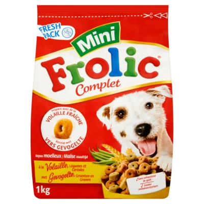 Frolic mini met gevogelte 1 kilo