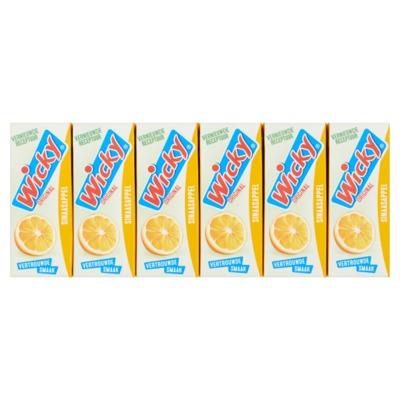 Wicky sinaasappelsap 3x 10-pack