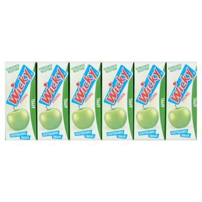 Wicky appelsap 3x 10-pack