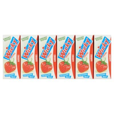 Wicky aardbei 3x 10-pack