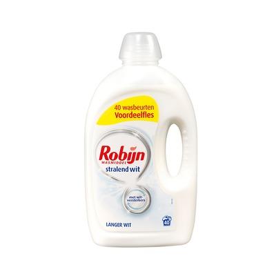 Robijn wasmiddel vloeibaar wit 40 wasbeurten