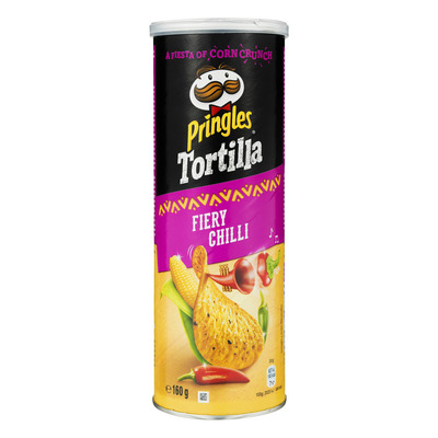 Pringles Tortilla chips spicy chilli