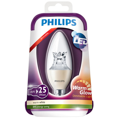 Philips Ledkaars warm dim 25W E14 220-240V