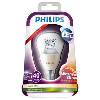 Philips Ledkogel warm dim 40W E14 220-240V