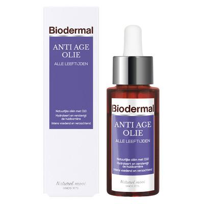 Biodermal Anti-age gezichtsolie