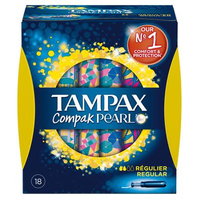 Tampax Tampons compak pearl regular