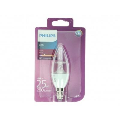Philips Led 25W B35 E14 helder