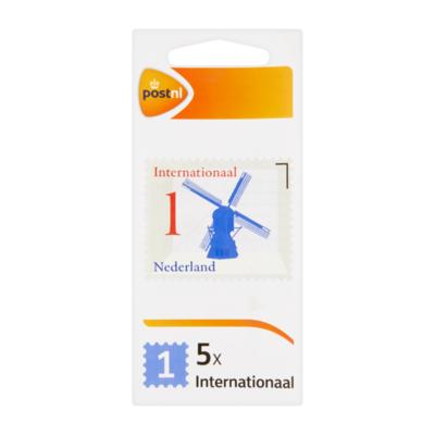 PostNL Nederland 1 Internationaal Postzegels