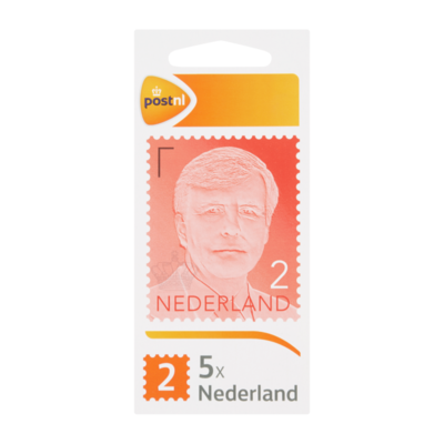 PostNL Nederland 2 Postzegels