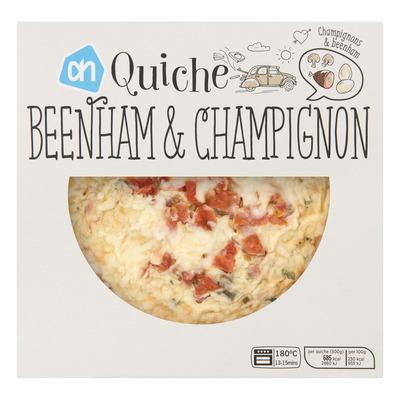 Huismerk Quiche beenham-champignon
