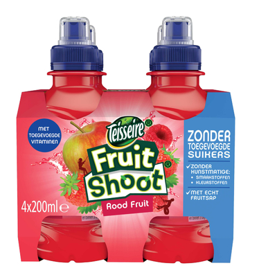 Robinsons Rood Fruit 0% 4-pack