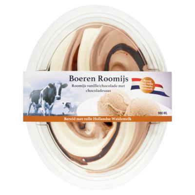 Primafrost Boerenroomijs vanille chocola