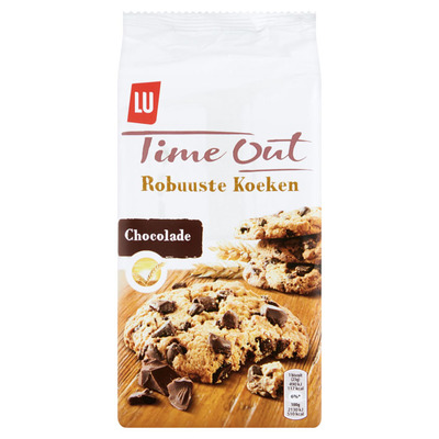 Time Out Robuuste koeken chocolade