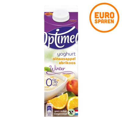 Optimel Winterseizoen Yoghurt Sinaasappel Abrikoos