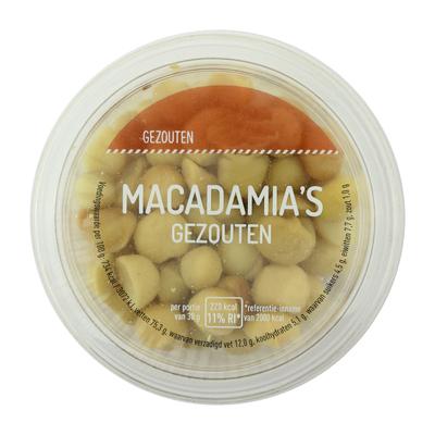 Klasse Noten Macadamia Gezouten
