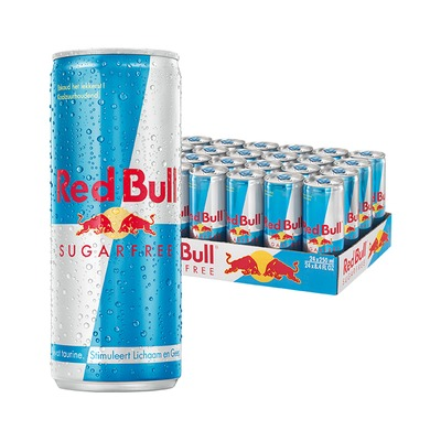 Red Bull sugarfree 24 x 250 ml.