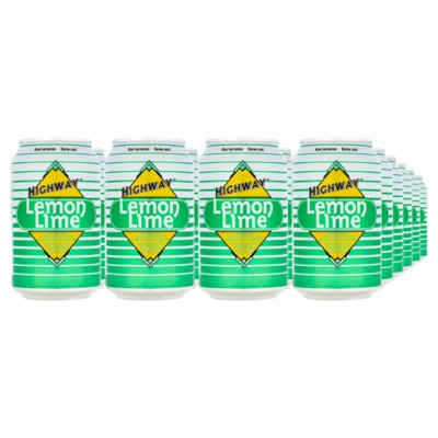 Highway lemon lime 24x33 cl.