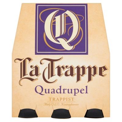 La Trappe quadrupel 6 x 30 cl. incl. €0,60 statiegeld